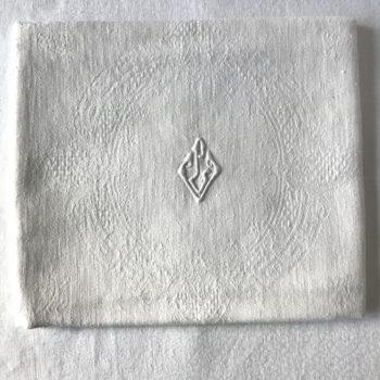 Serviettes monogrammées VL