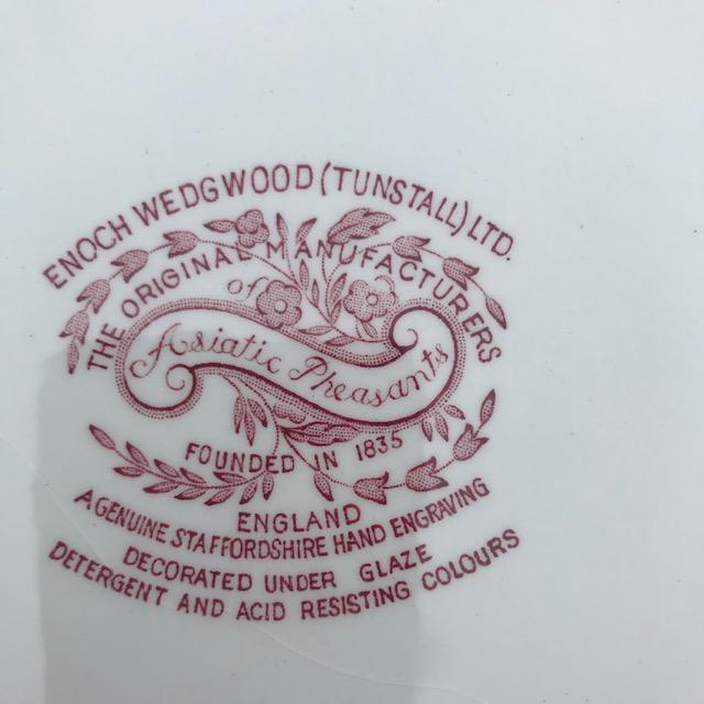 Plat de service ovale Wedgwood