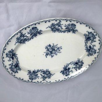 Plat ovale Bertha, Sarreguemines