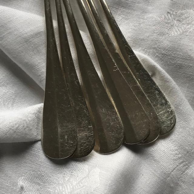 Six fourchettes à poisson Christofle