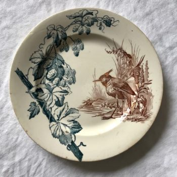 Assiette plate P&R Houblon