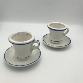 Deux tasses brûlot
