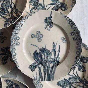 Assiette plate Iris