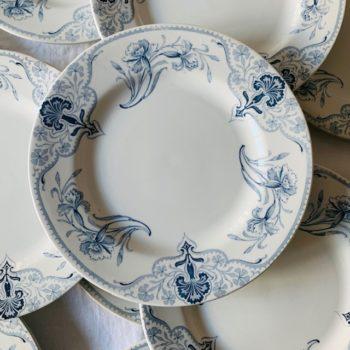 Assiettes plates Bayeux