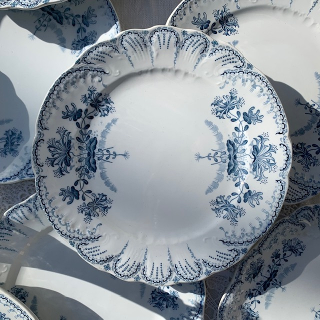 Assiettes plates Régence
