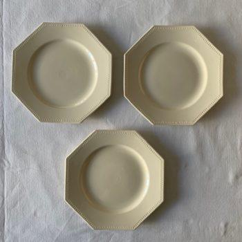 Assiette octogonale Sarreguemines