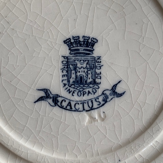 Assiettes creuses Cactus