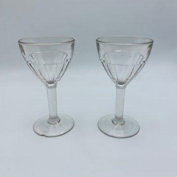 Deux verres à bistrot