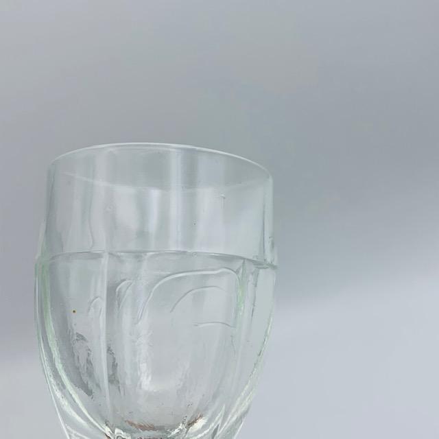 Deux verres à apéritif