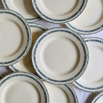 Assiettes plates Salins