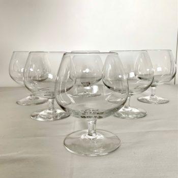 Six verres à cocktail