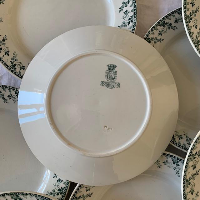 Assiette plate Montigny