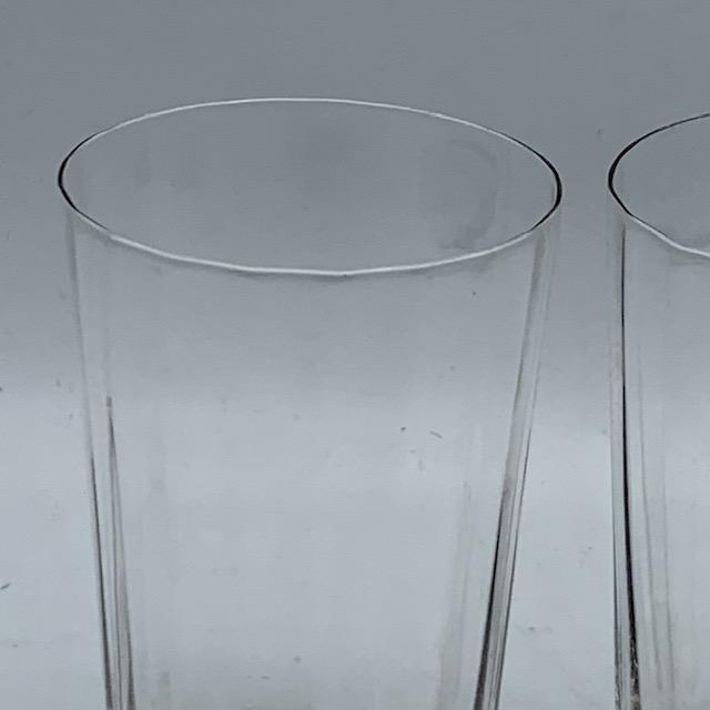 Verres à eau en cristal