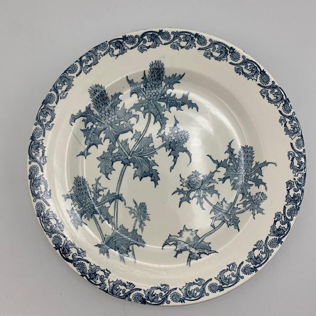 Millie, six assiettes plates