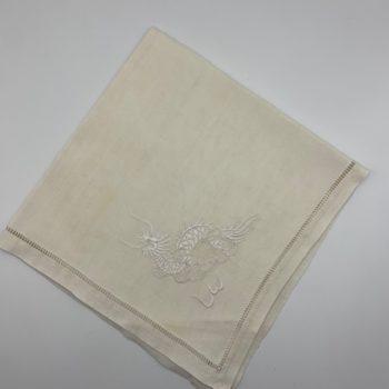 Dix serviettes en lin