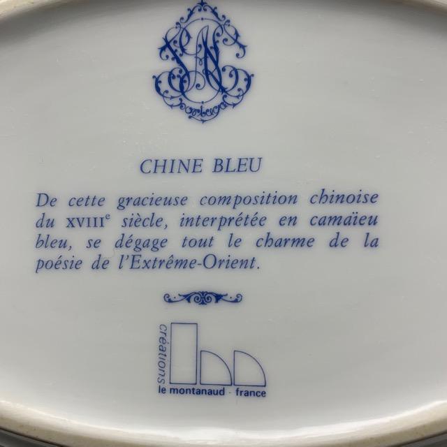Raviers à décor chinois