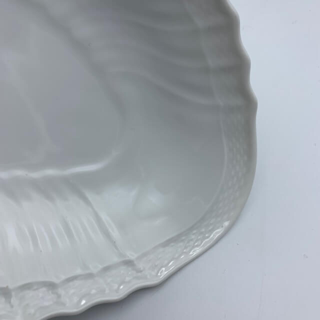 Raviers «Coquille» en porcelaine italienne