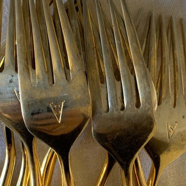 Grandes fourchettes bambou